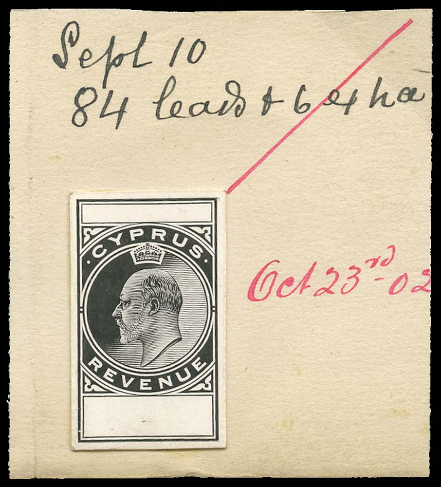 CYPRUS 1902  SG. Revenue