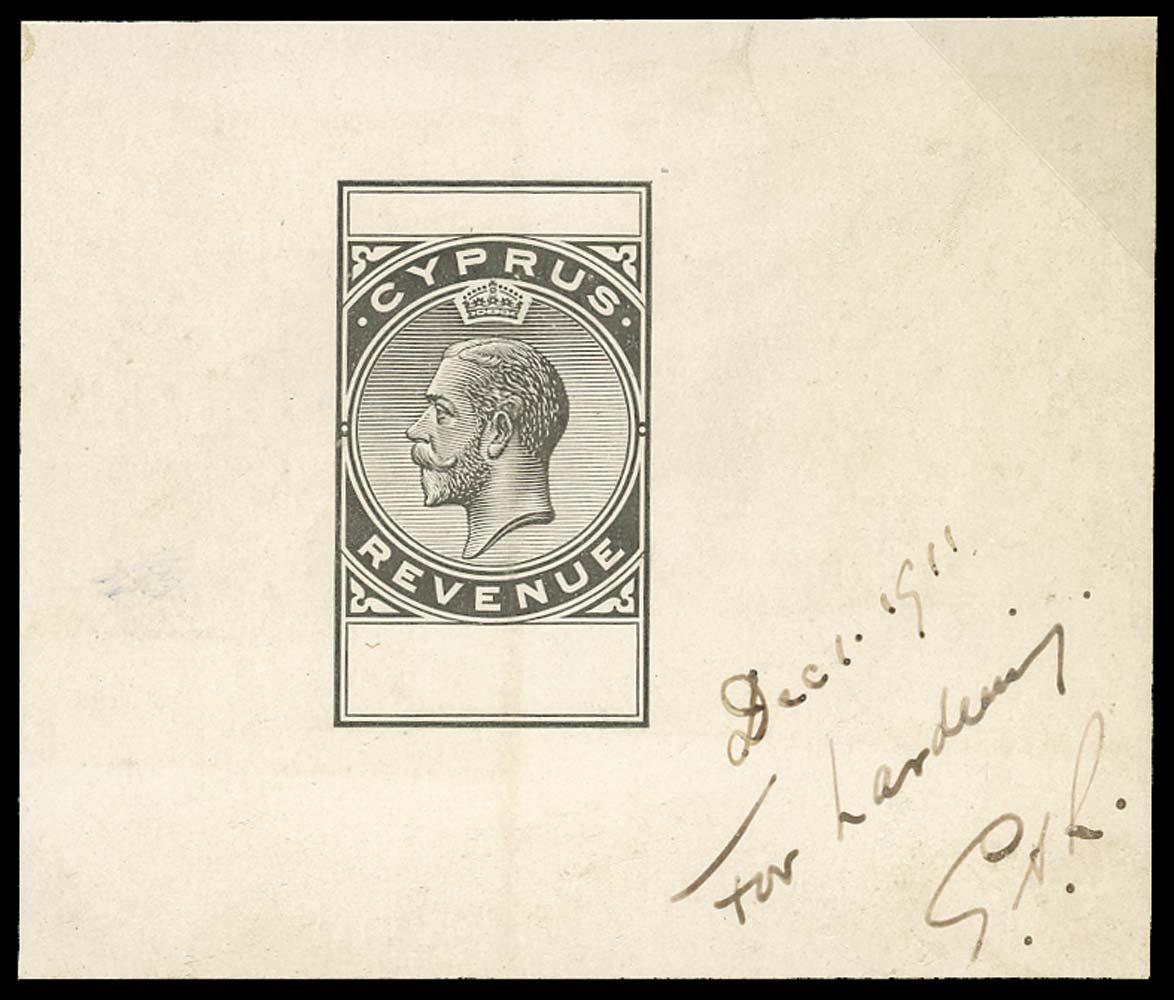 CYPRUS 1911  SG. Revenue
