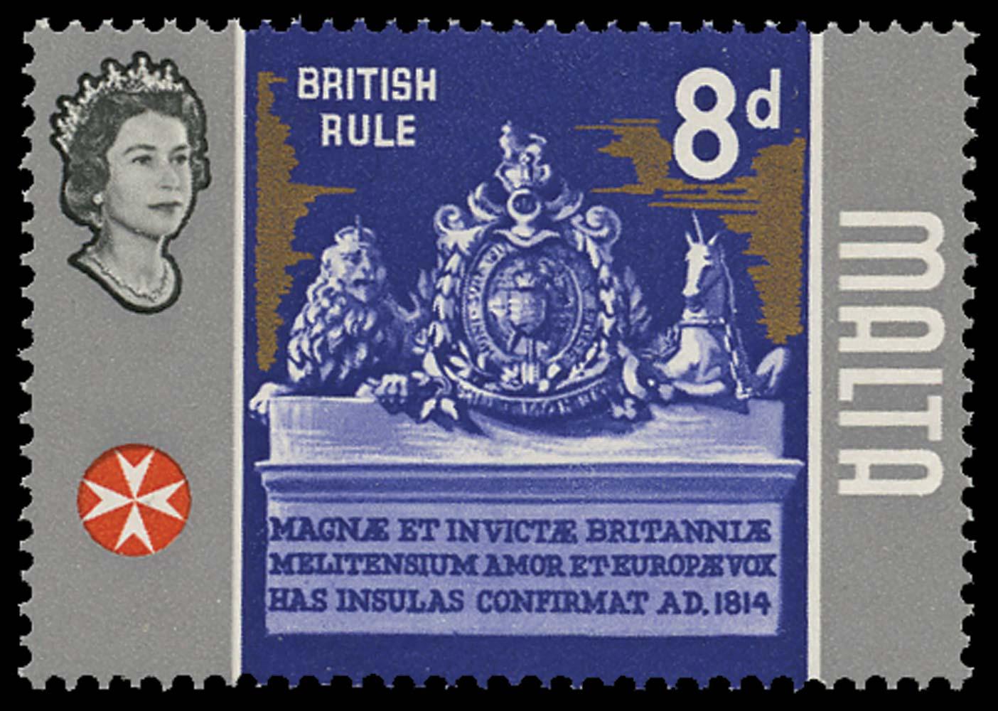MALTA 1965  SG339b Mint