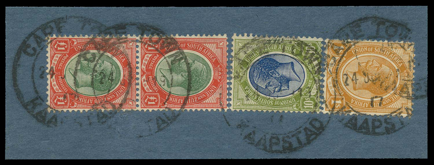 SOUTH AFRICA 1913-24  SG17 Used