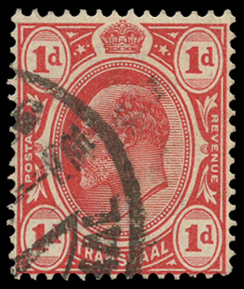 TRANSVAAL 1905-09  SG274b Used