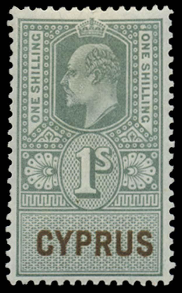 CYPRUS 1902-03  SG. Revenue