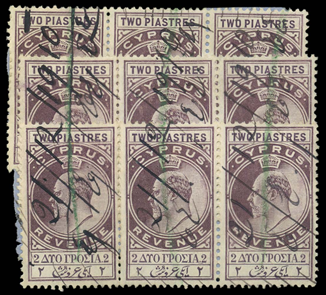 CYPRUS 1904  SG. Revenue