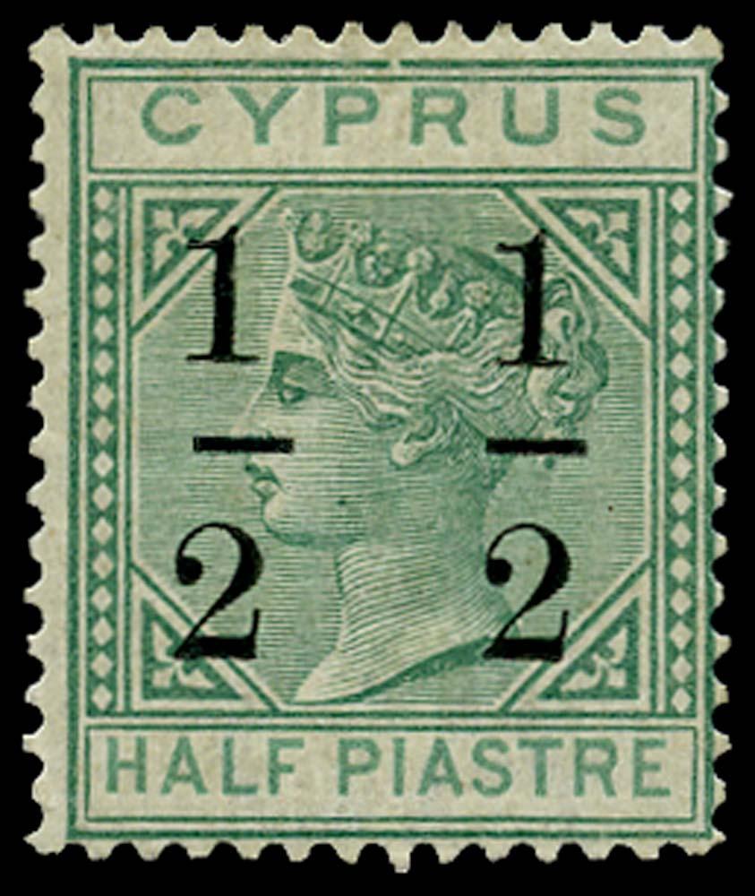 CYPRUS 1886  SG27 Mint