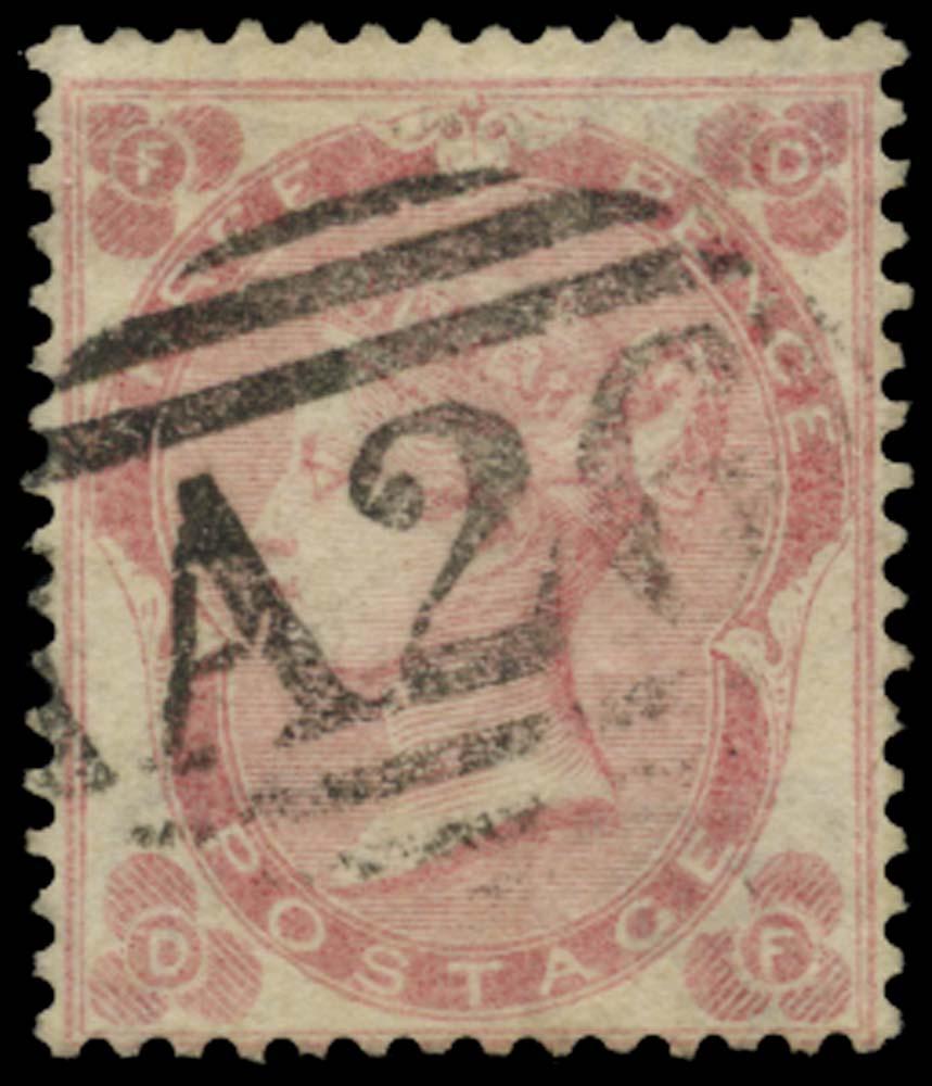 GIBRALTAR 1862  SGZ29 Cancel
