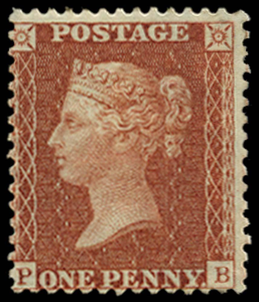GB 1855  SG29 Pl.38 Mint