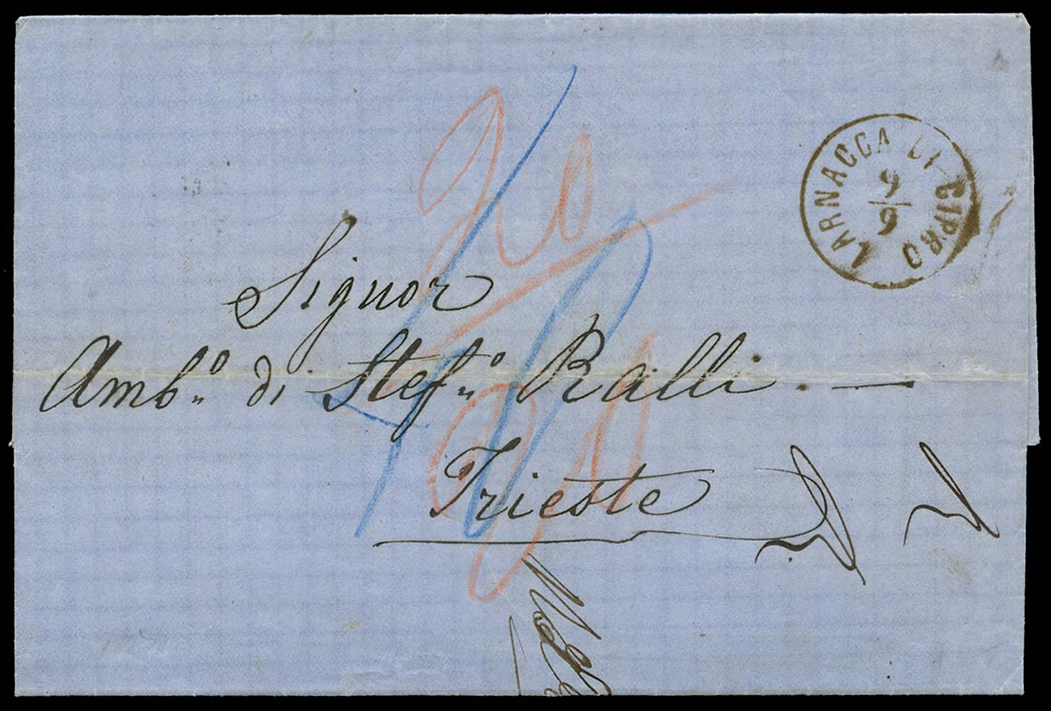 CYPRUS 1871 Cover