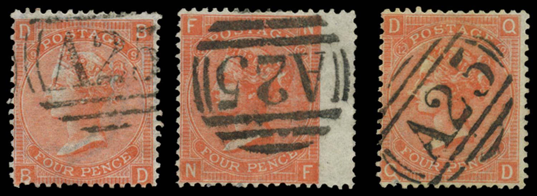 MALTA 1865-73  SGZ49 Cancel