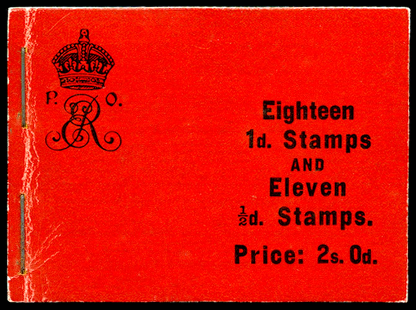 GB 1909  SGBA5 Booklet (Edition 6)