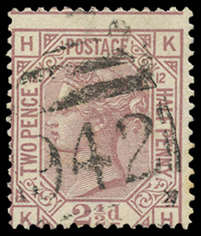 CYPRUS 1878-80  SGZ18 Pl 12 Cancel