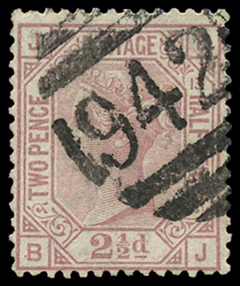 CYPRUS 1878-80  SGZ18 Pl 13 Cancel