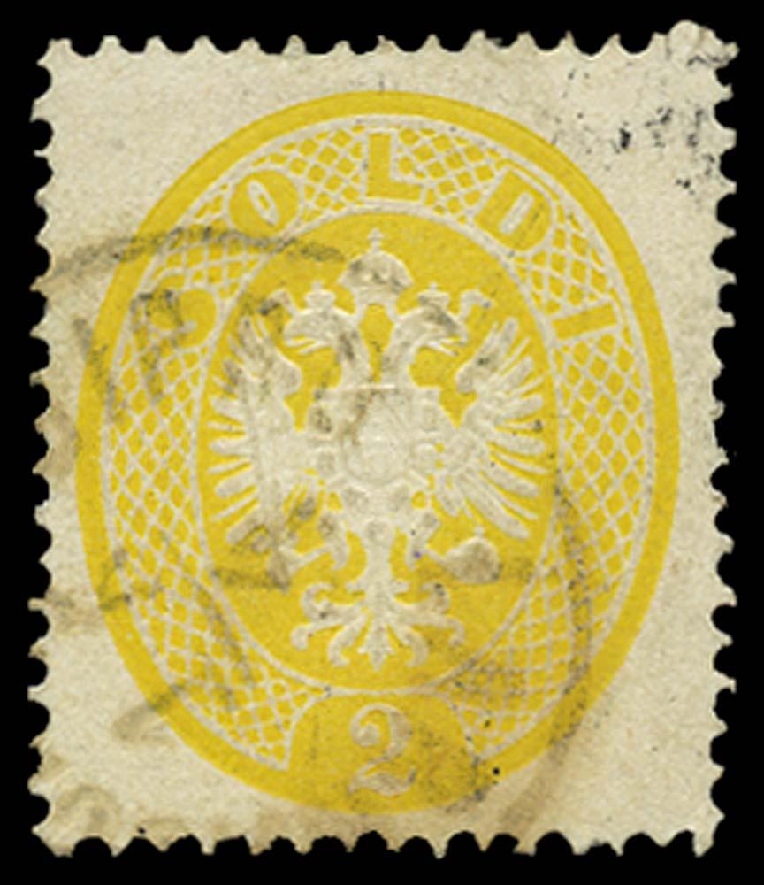 CYPRUS 1863  SG. Cancel