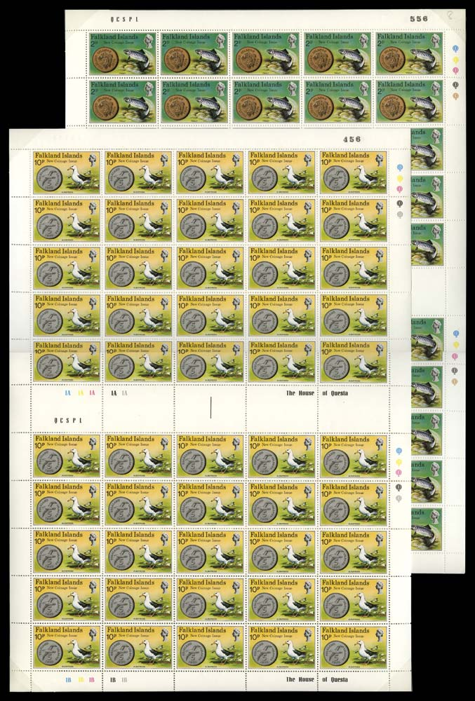FALKLAND ISLANDS 1975  SG316/20 Mint