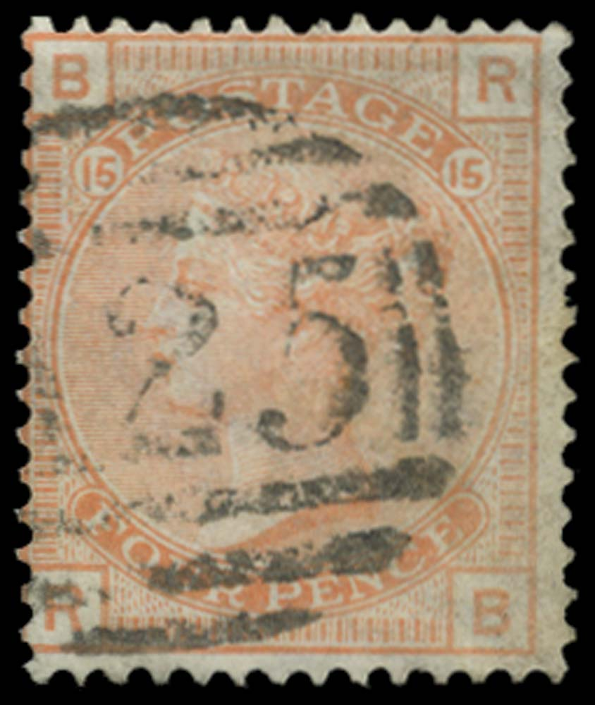 MALTA 1876  SGZ50 Cancel