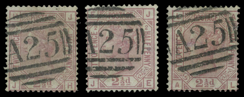 MALTA 1875-6  SGZ36 Cancel