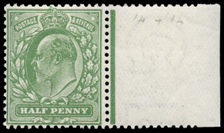 GB 1911  SG270var Mint