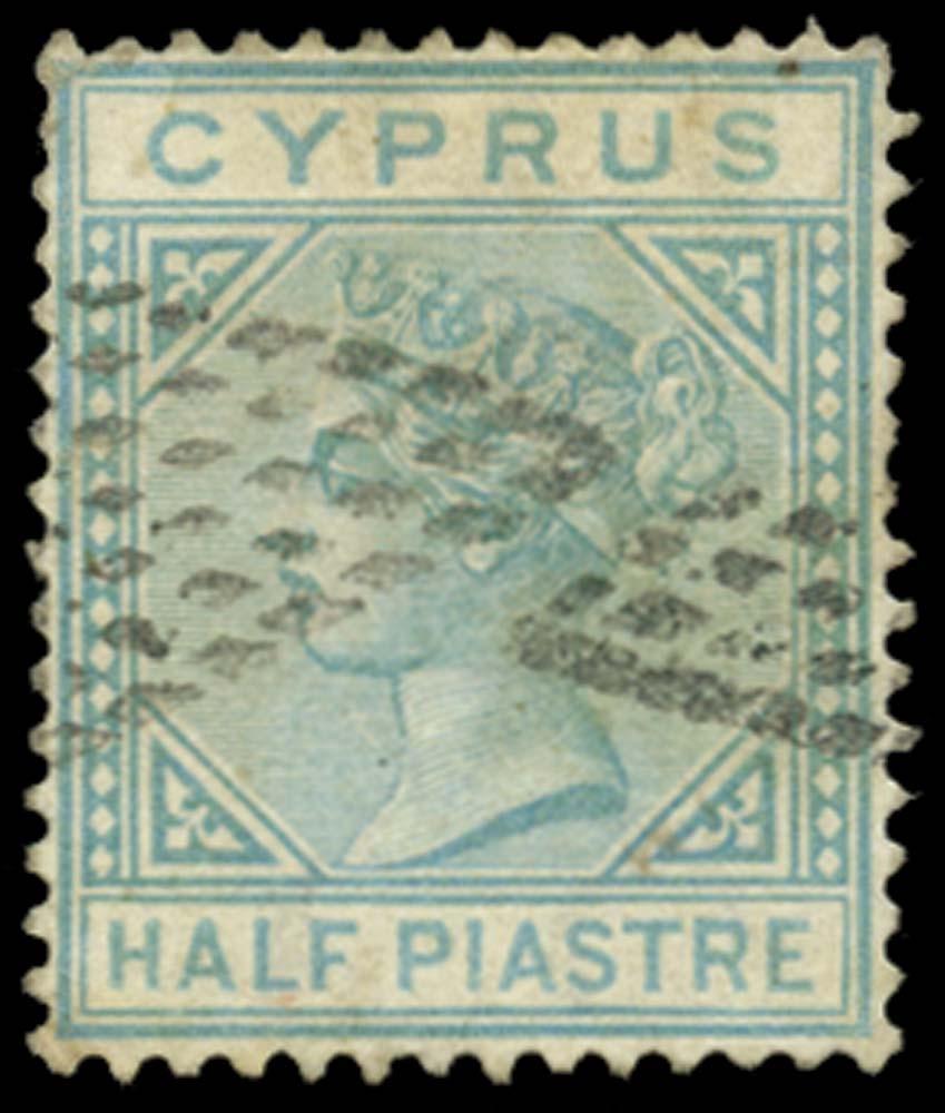 CYPRUS 1881  SG11 Cancel
