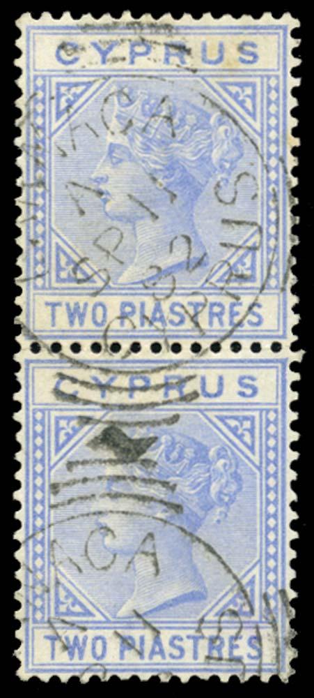 CYPRUS 1881  SG13 Used