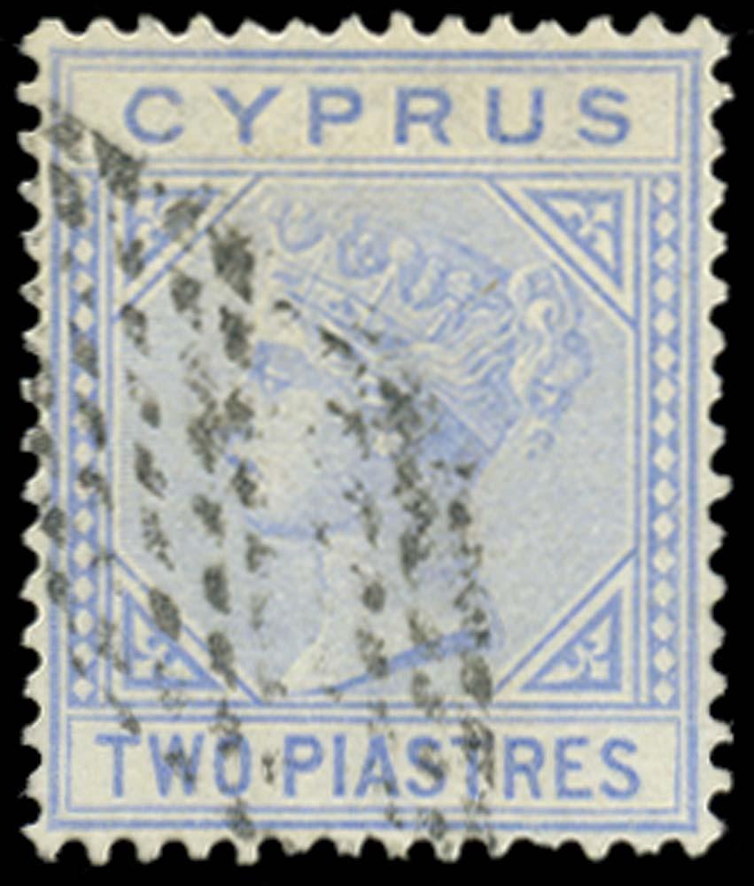 CYPRUS 1881  SG13 Cancel