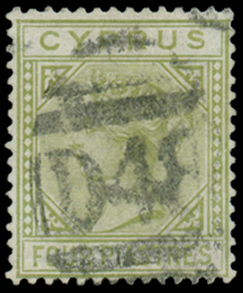 CYPRUS 1881  SG14 Cancel