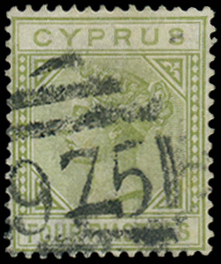 CYPRUS 1881  SG14 Used