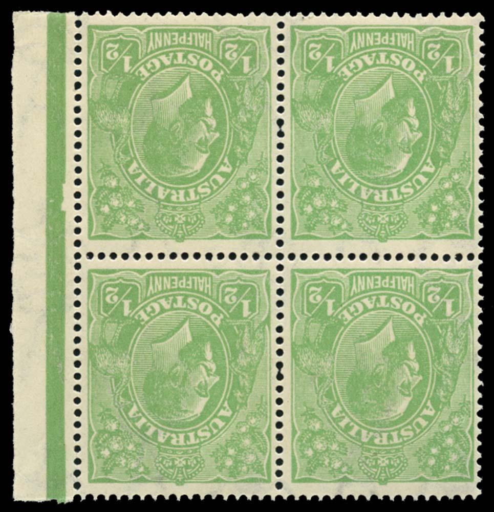 AUSTRALIA 1918  SG48w Mint