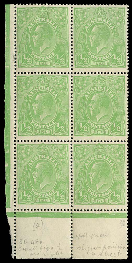 AUSTRALIA 1918  SG48/a Mint