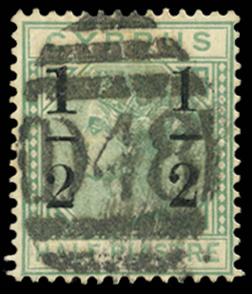 CYPRUS 1886  SG29a Cancel