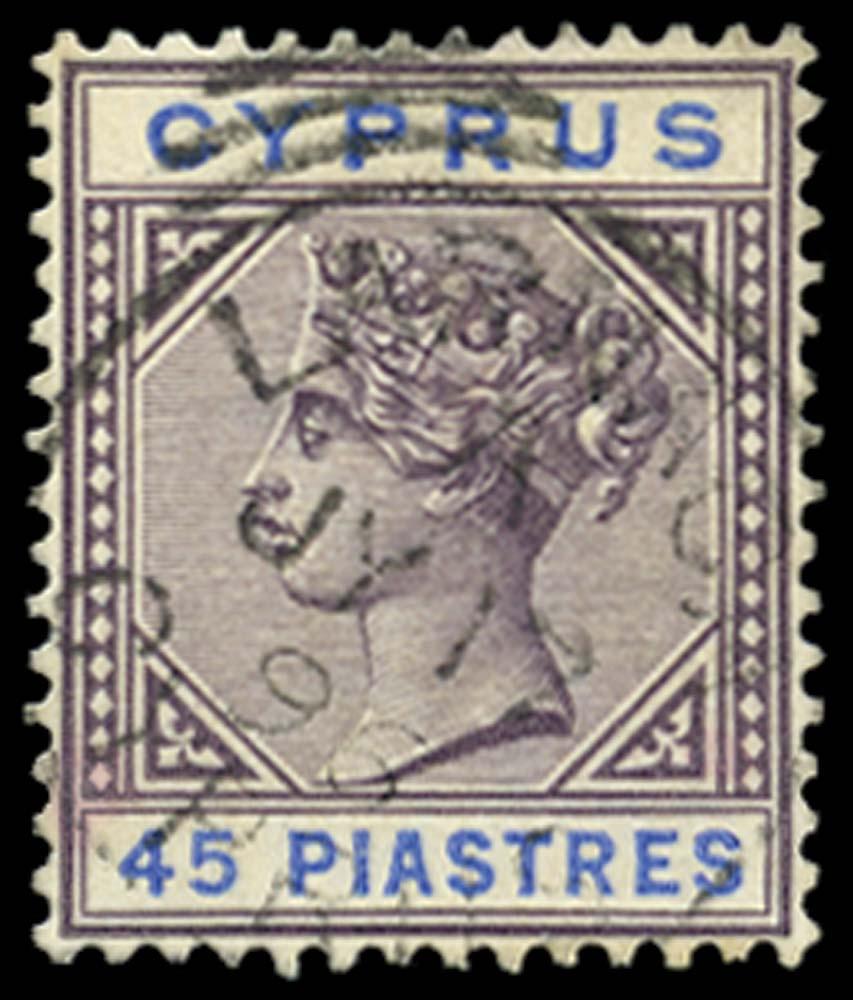 CYPRUS 1894-6  SG49 Used