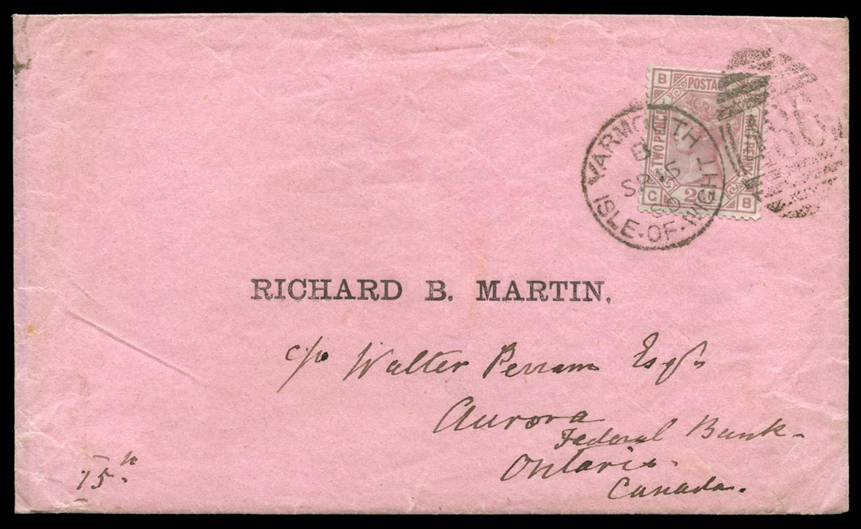 GB 1875  SG138 Pl.1 Cover