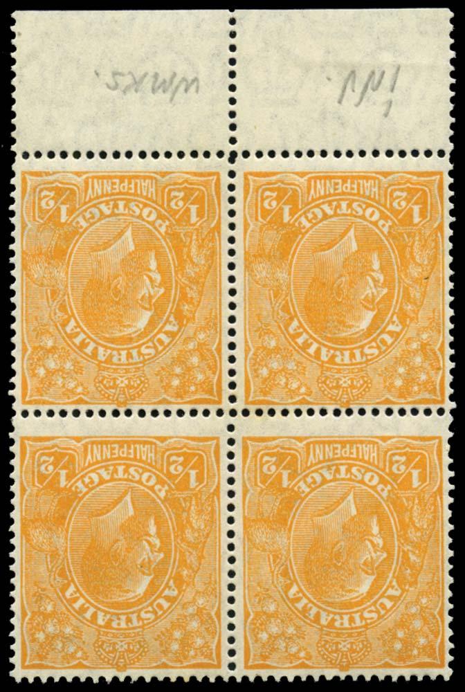 AUSTRALIA 1926  SG85w Mint
