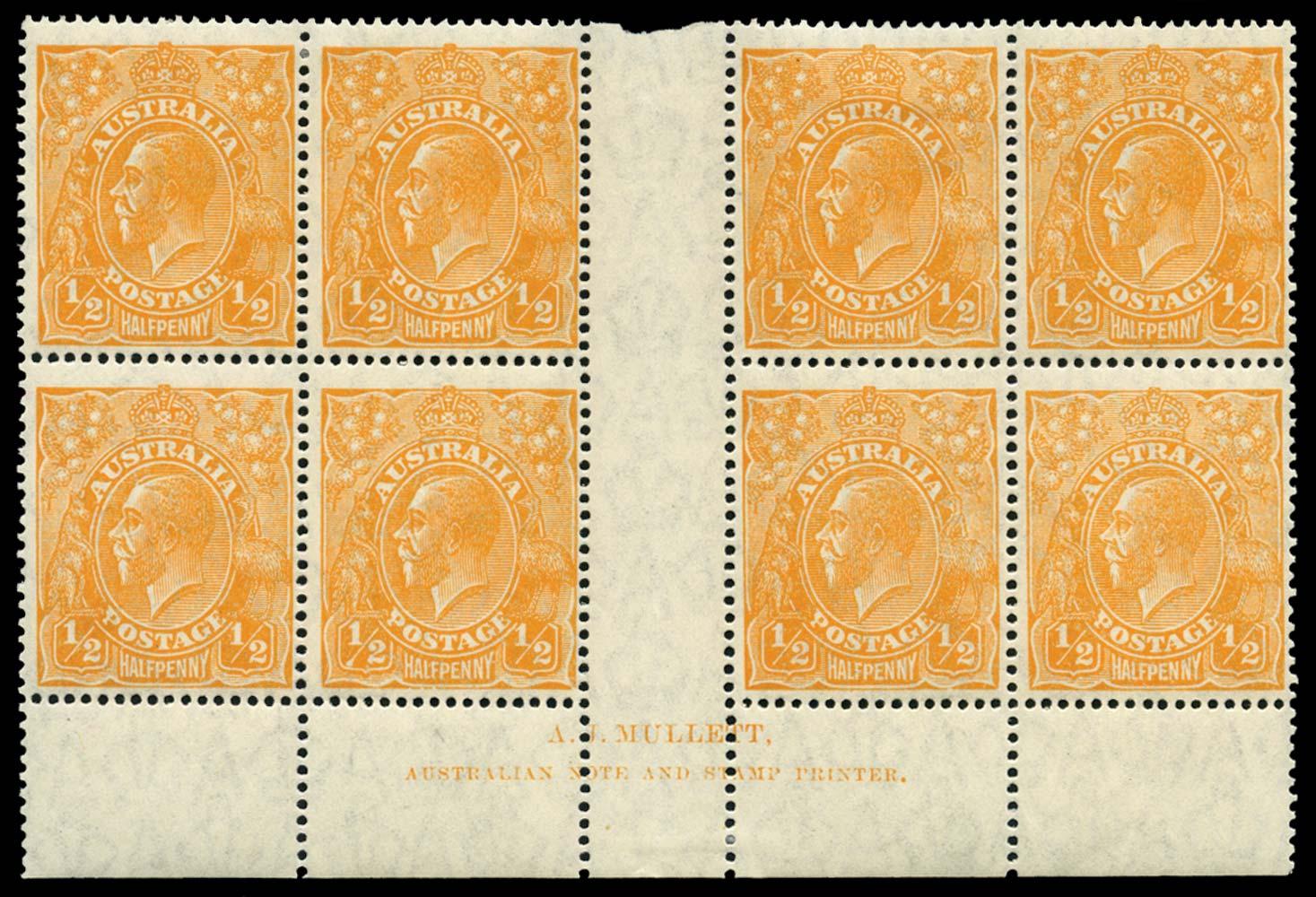 AUSTRALIA 1926  SG85 var Mint