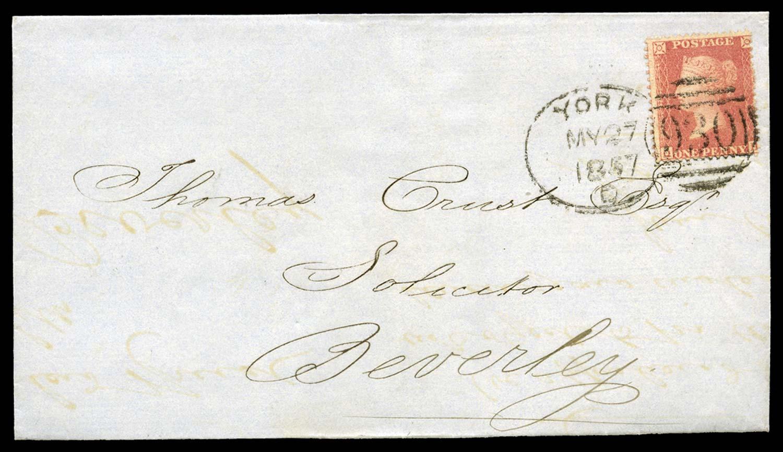 GB 1857  SG39 Pl.43 Cover