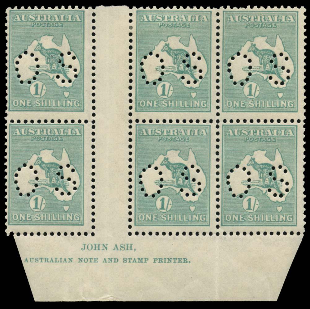 AUSTRALIA 1915  SGO48b Official