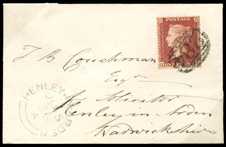 GB 1857  SG36 Pl.43 Cover