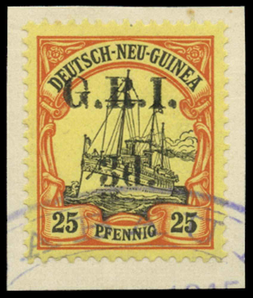 NEW GUINEA 1914-15  SG22 Used