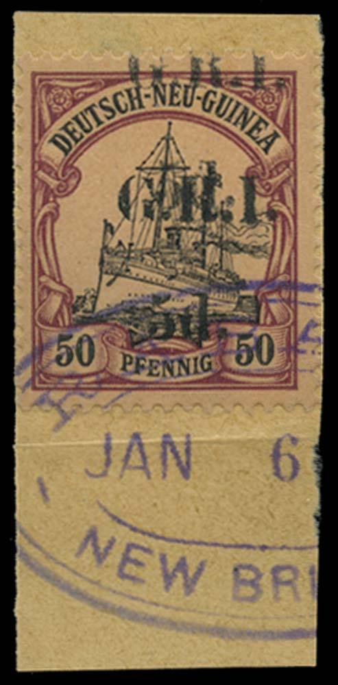 NEW GUINEA 1914-15  SG25f Used
