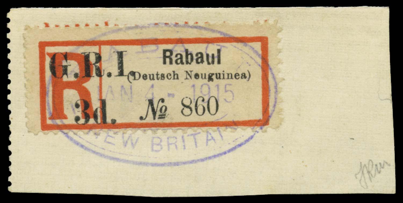 NEW GUINEA 1915  SG33 Used