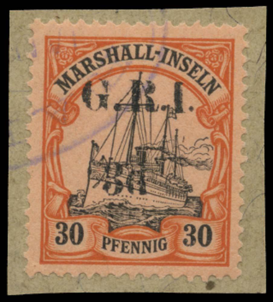 NEW GUINEA 1914  SG55e Used