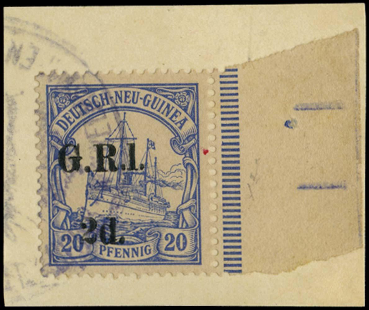 NEW GUINEA 1914-15  SG4a Used