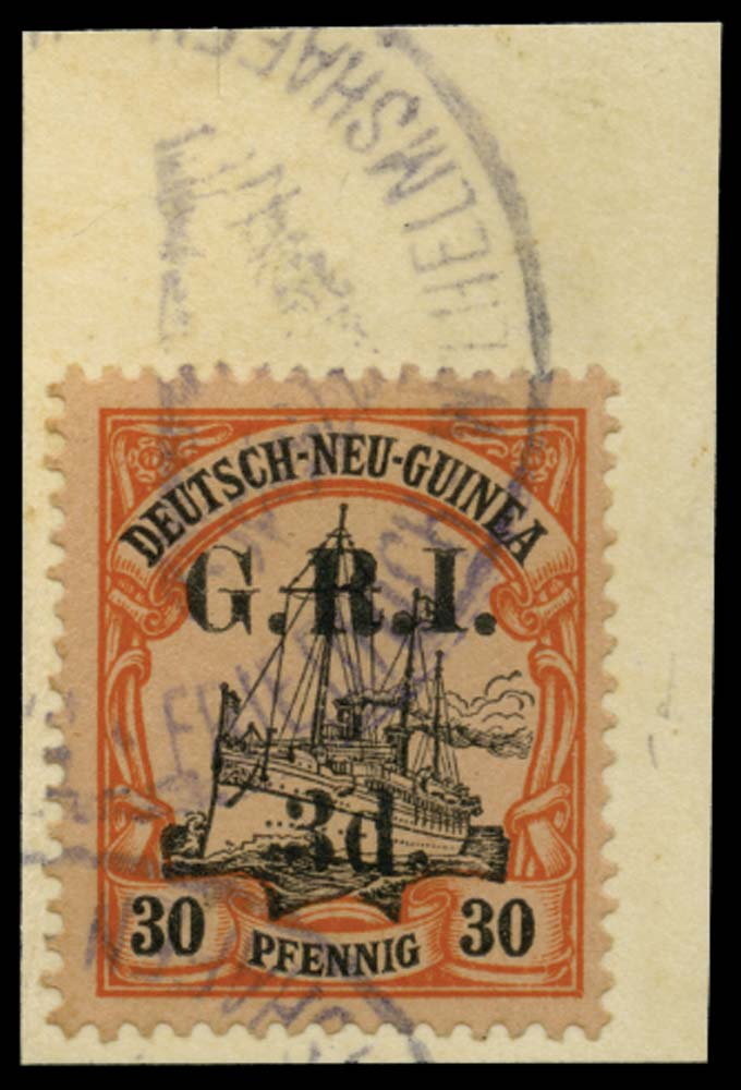 NEW GUINEA 1914-15  SG8 Used