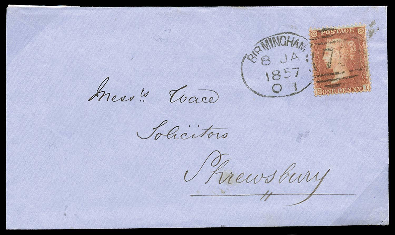 GB 1855  SG29 Pl.44 Cover