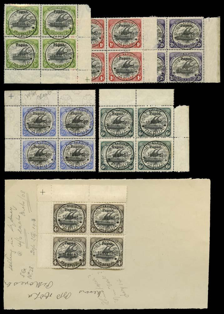 PAPUA 1906  SG21/6 Used