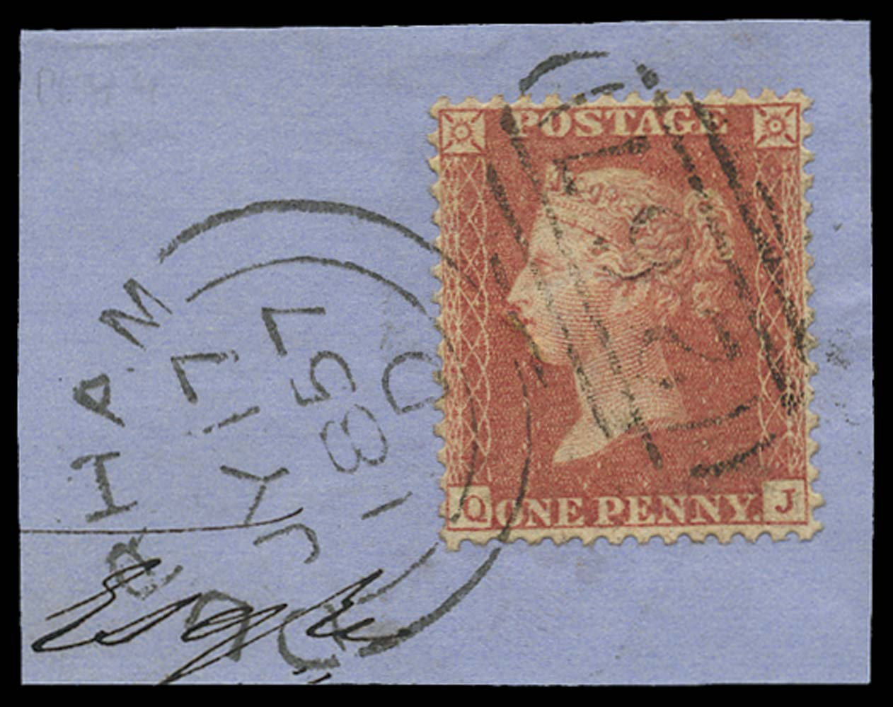 GB 1857  SG38var Pl.44 Used