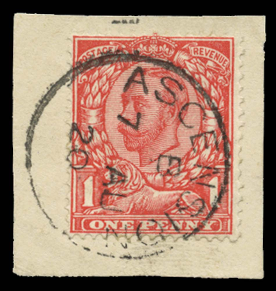 ASCENSION 1912  SGZ38b Cancel
