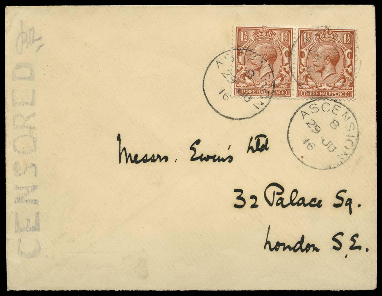 ASCENSION 1916  SGZ41 Cover