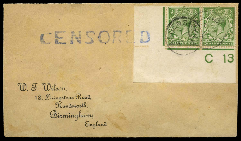 ASCENSION 1916  SGZ39 Cover