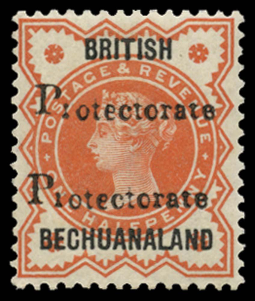 BECHUANALAND 1888  SG40a Mint