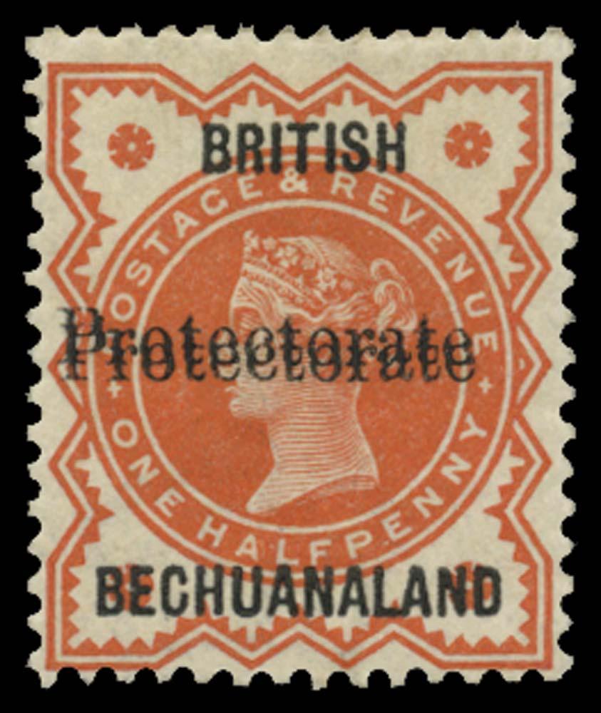 BECHUANALAND 1890  SG54b Mint