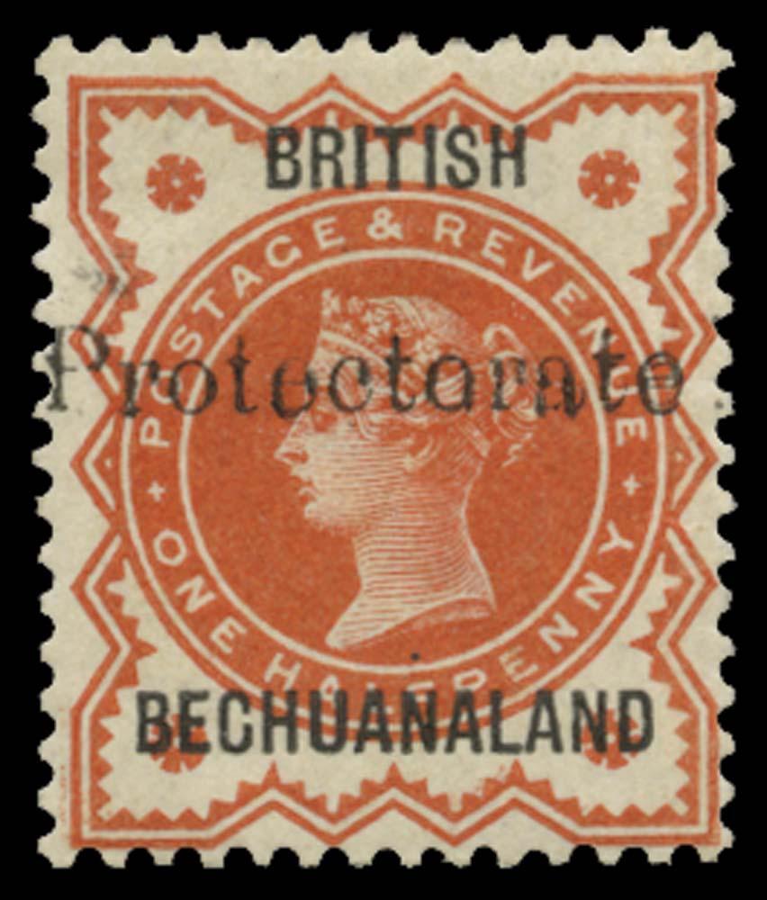 BECHUANALAND 1890  SG55 Mint